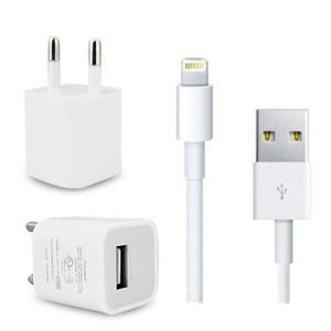 Wall Usb Charger With Lightning Cable For Iphone 5 Ipad